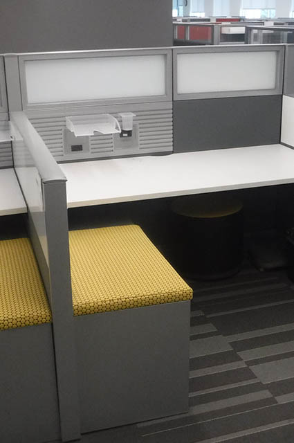 Answer Yellow Workstations