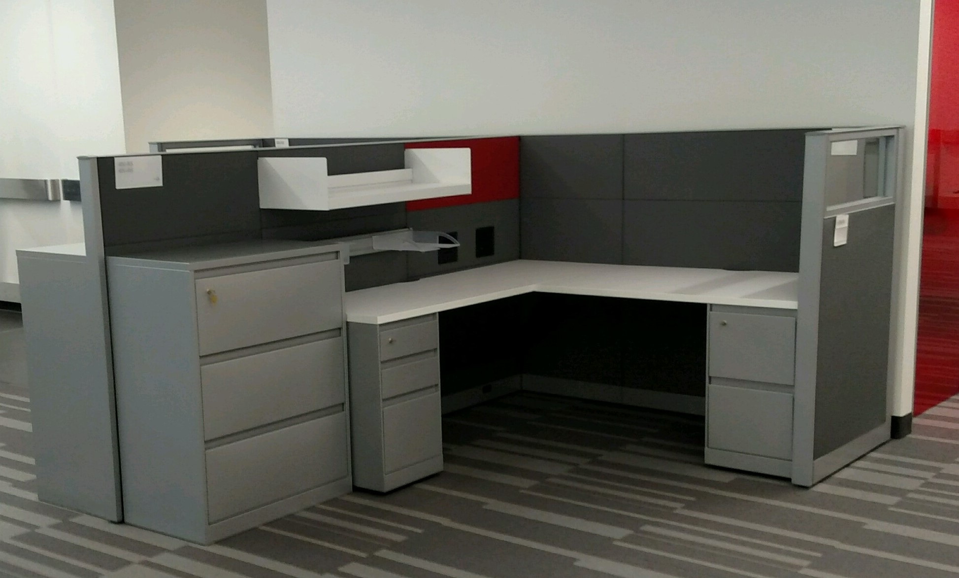 Storr Office Environments PreOwned Steelcase Answer Workstations